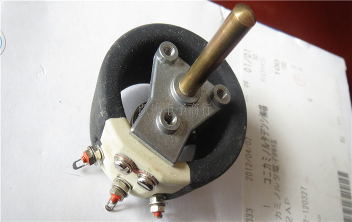 Import REO R40 1000R ceramic wire potentiometer handle length 33MM switch 88mm single joint fader potentiometer 5krd handle length 15mmd