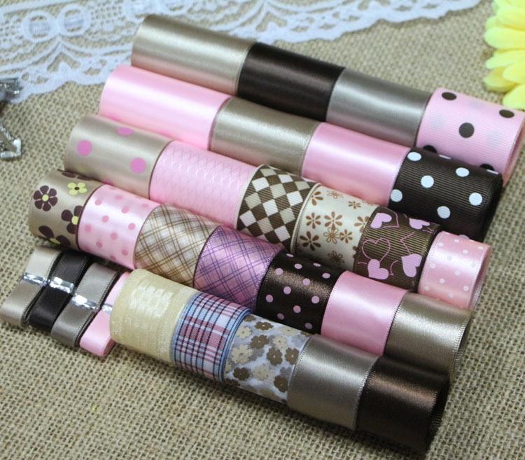 Juego de cintas DIY: conjunto de cintas de mezcla de color rosa y - Artes, artesanía y costura