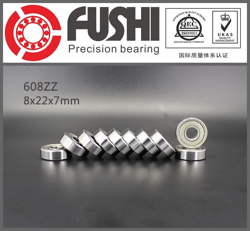 608ZZ Bearing ABEC-7 ( 10 PCS ) 8x22x7mm Miniature Ball Bearings 608Z EMQ GRADE 608ZZ-Bearing гарнитура беспроводная sony sbh70ru b bt3 0