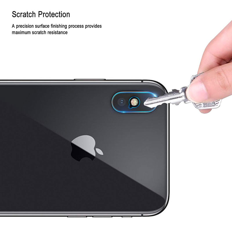 Ascromy For iPhone XS Max Rear Tempered Glass Camera Lens Protector Film Guard For iPhone XR X S 8 Plus 7 6 6S Camera Protection (4)