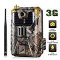 3 グラム MMS SMTP SMS 狩猟トレイルカメラ HC900G 20MP 1080 1080p 赤外線カメラ屋外携帯野生生物監視カム