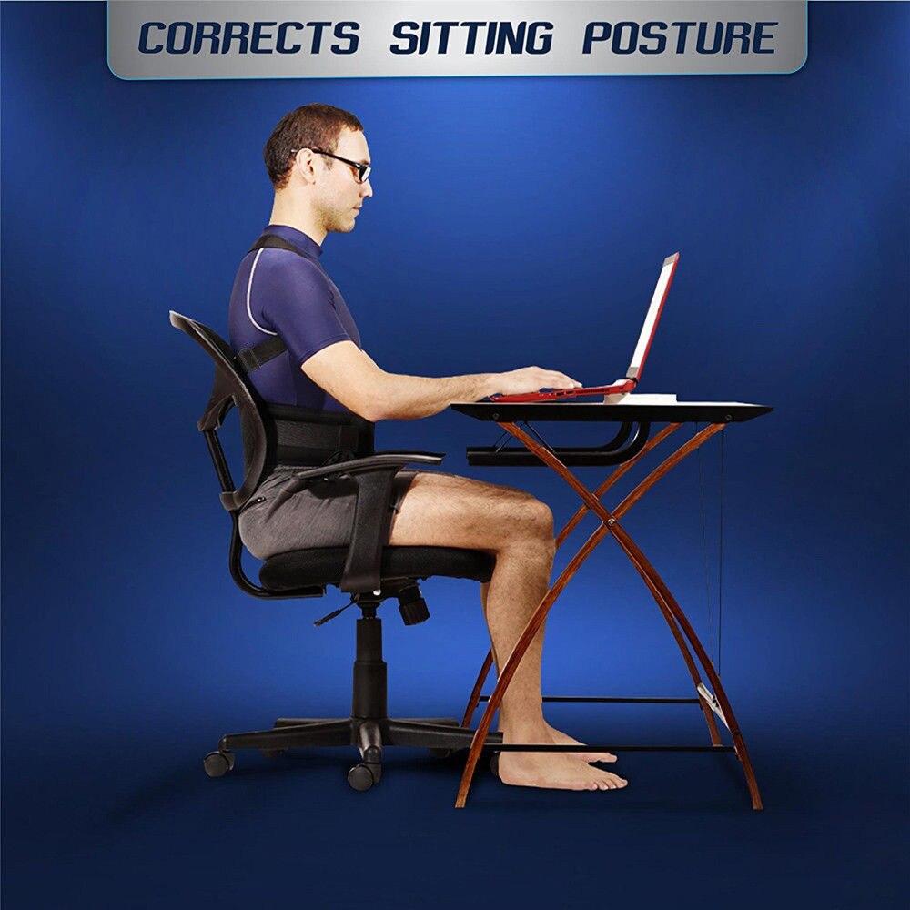 Male Female Adjustable Magnetic Posture Corrector Corset Back Brace Back Belt Lumbar Support Straight Corrector S-XXL TK-ing 5