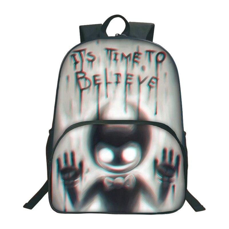063fa1e2a7e5 HTB1ENSacH5YBuNjSspoq6zeNFXaP 2018 Bendy And The Ink Machine Backpack For Children  School Bags Cartoon Game Printing Book