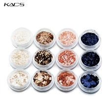 KADS NEW Matt Nail Glitter Powder.Nail Art Decoration Powder For 4 Color With 3 Styles