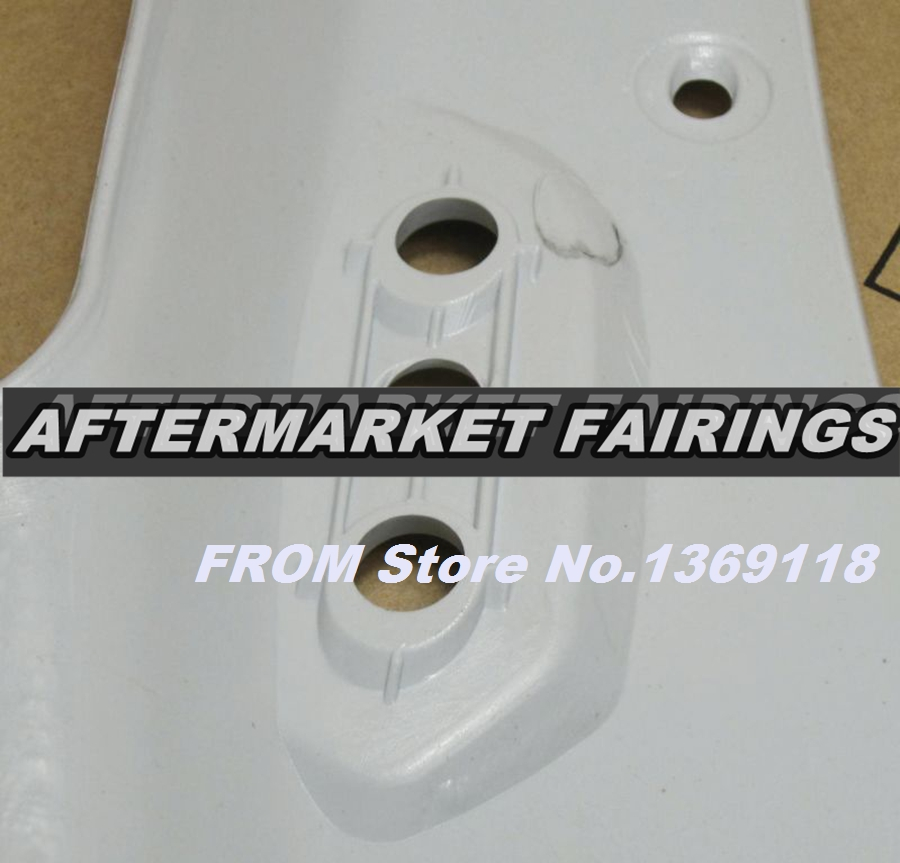 100% Virgin ABS Plastic Front Fairing Head For Suzuki GSXR 600 GSXR 750 2006 2007 K6 Upper Fairing Nose Cowling NEW-in Covers & Ornamental Mouldings from Automobiles & Motorcycles    3