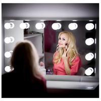HuaXinV Hollywood Style LED Vanity Mirror Lights Kit Lighting Fixture Strip for Makeup Vanity Table Set in Dressing Room