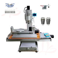 2200W milling cnc 6040 Vertical metal engrave machine with free cutter