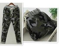 Uk di alta qualità più nuovo autunno della molla di marca mens pantaloni della tuta uomini di cotone del camuffamento pantaloni pantaloni casual uomini/uomo jogging pantaloni