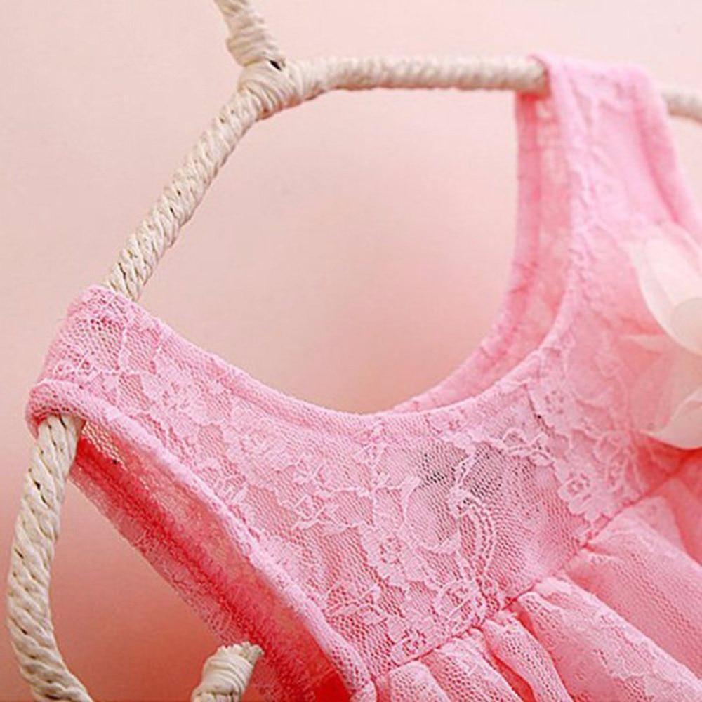 kojenecké holčičky krajkové šaty dětské oblečení pro podzim - Dětské oblečení - Fotografie 4