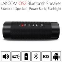 JAKCOM OS2 5200mAh Outdoor Wireless Bluetooth Speaker Waterproof Column Bicycle Portable Music Bass Speaker LED light Power Bank