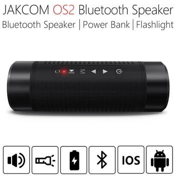 JAKCOM OS2 5200mAh al aire libre inalámbrico Bluetooth altavoz impermeable columna bicicleta portátil música bajo altavoz LED banco de energía