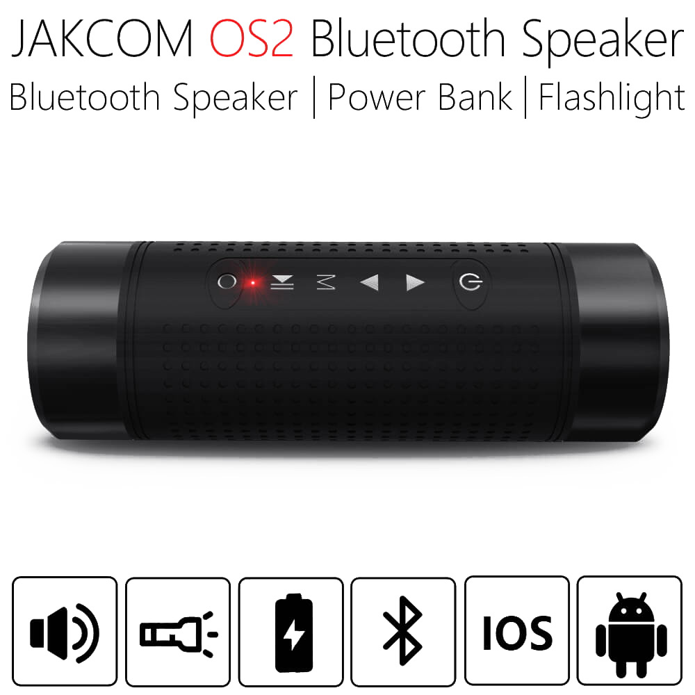 JAKCOM OS2 5200mAh <font><b>Outdoor</b></font> Wireless <font><b>Bluetooth</b></font> Lautsprecher Wasserdicht Spalte Fahrrad Tragbare Musik Bass Lautsprecher LED licht Power Bank image