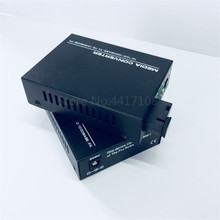 Ftth 送料無料 1 ペア 40 キロメートルギガビット繊維光メディアコンバータ 10/100/1000 Mbps 単繊維シングルモード SC メディア converte