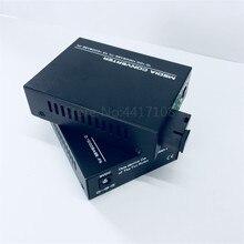 Ftth frete grátis 1 par 40 km gigabit fibra óptica conversor de mídia 10/100/1000 mbps único modo fibra sc media converte
