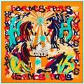 2016 шелковый шарф женщины лето шелковые платки шарфы животных распечатать большой площади большие шелковые шарфы желтый дешево шарф 130 * 130 см
