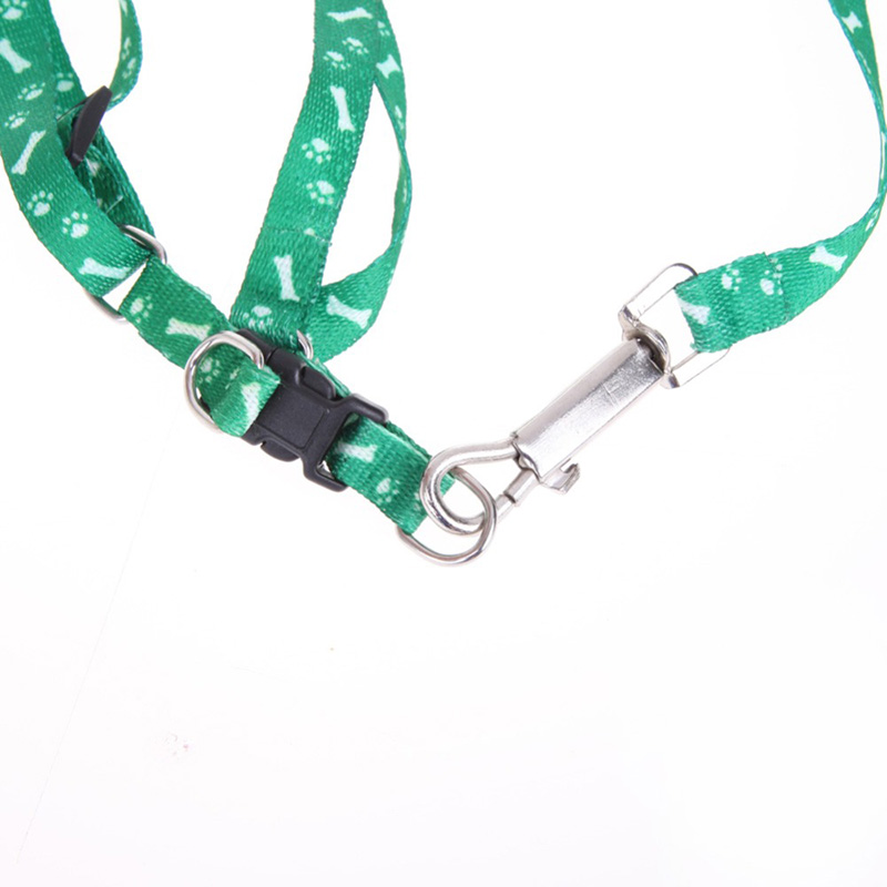 Adjustable Pet Cat Doggie Puppy Colorful Nylon Leashes Lead Harness Belt Rope Dog Safely Leash Pet