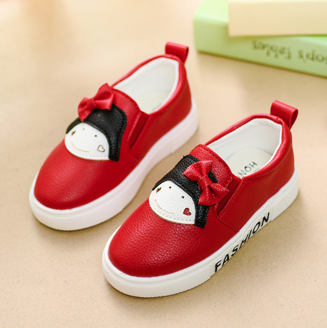 Retail Girls shoes  fall 2016 new children shoes girl baby shoes