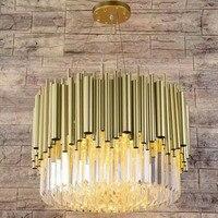 Postmodern light luxury crystal living room chandelier High end restaurant bedroom creative lighting lamps clothing store lamp