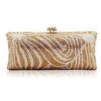 2017 New Brand Luxury Crystal Clutches Evening Bag Rhinestone Handbag Fashion Party Package Women's Shoulder Bags Mini Lady Gift