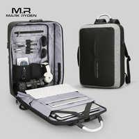 Mark Ryden Новый Анти-Вор USB подзарядка мужской рюкзак без ключа TSA замок дизайн мужской бизнес мода рюкзак с посланием путешествия