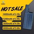 HSW 5200mAh Laptop Battery For Dell Latitude D531 D531N D820 D830 Precision M65 Precision M4300 Mobile Workstation YD626 YD624