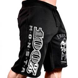 Для мужчин новый хлопок шорты для женщин мужчин's короткие свободные брюки фитнес бодибилдинг; бег мужчин s Бренд Прочный треники