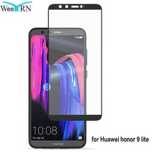 WeeYRN Honor 9 lite Full Cover Tempered Glass For Huawei Honor 9 lite Screen Protector For Huawei honor 9 lite Protective Glass цена