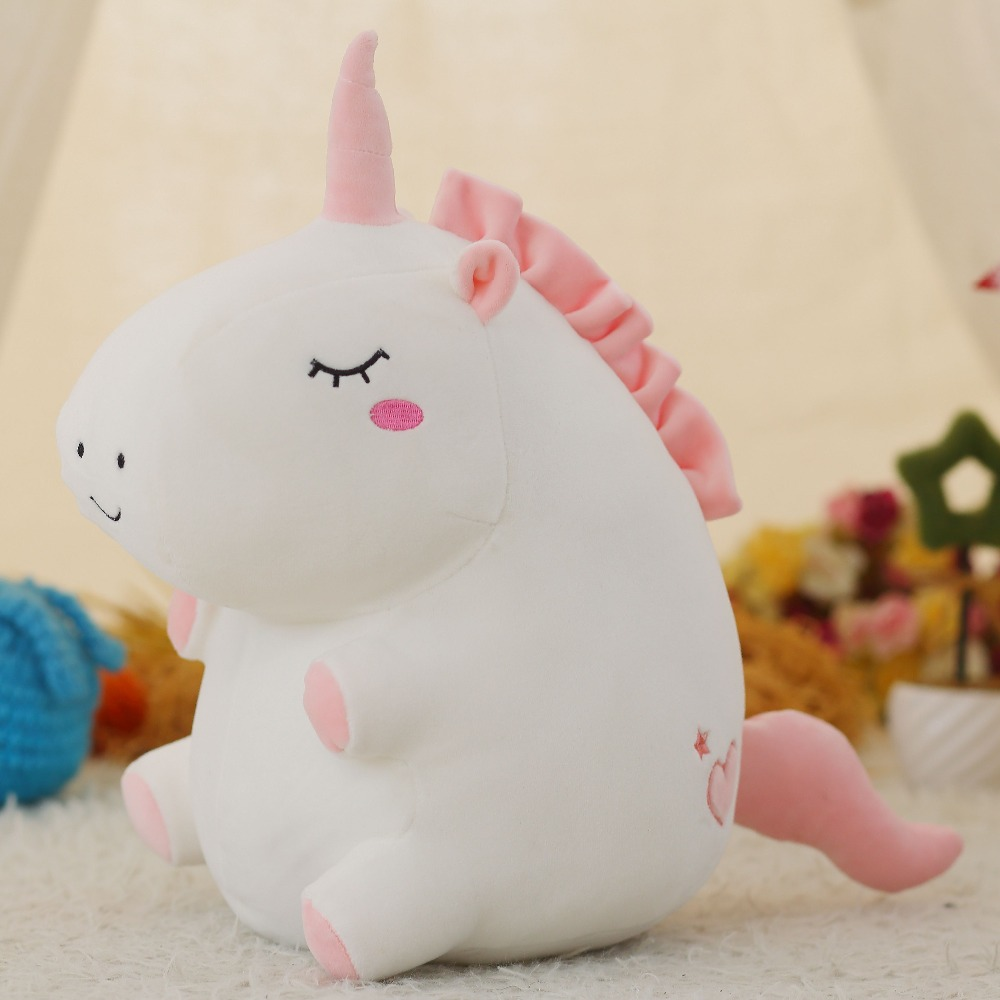 Unicorn Stuffed Plush Toy Super Soft Uncorn Pillow Kids Toy Birthday Gift For Kids Child tales of xillia elise lutus teepo plushie handmade stuffed plush toy cosplay props 45cm