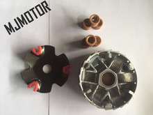 MJMOTOR K High Performance Variator Set with Copper Rollers For Chinese 50 80cc GY6 Scooter Honda