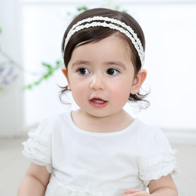fashion tulle flower bowknot headbands for hair bows head band - Apparel Accessories