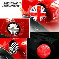 For MINI Cooper F56 Car Styling For MINI F55 Fuel Tank Cap Sticker Decals For MINI F56 Accessories Fuel Can Cover Decoration