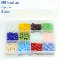 Free Shipping Crystal Glass Bead Kit Accessories Round Rondelle Cube Shape Jewelry Making Beads Set Latest