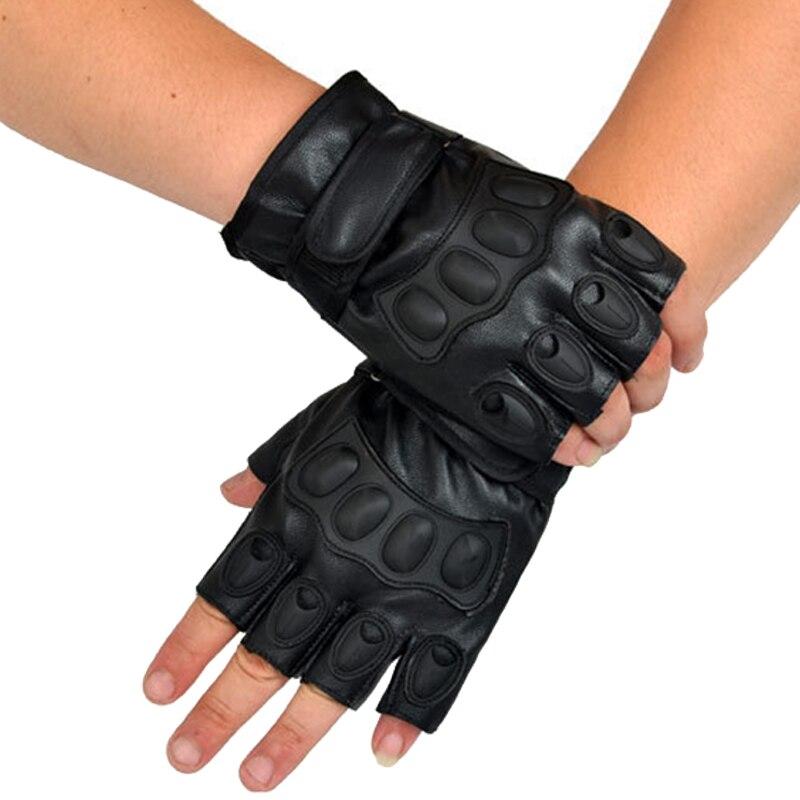 Morewin 2018 Lovely Party Voksen Tactical Handskar Half Finger PU - Kläder tillbehör - Foto 2