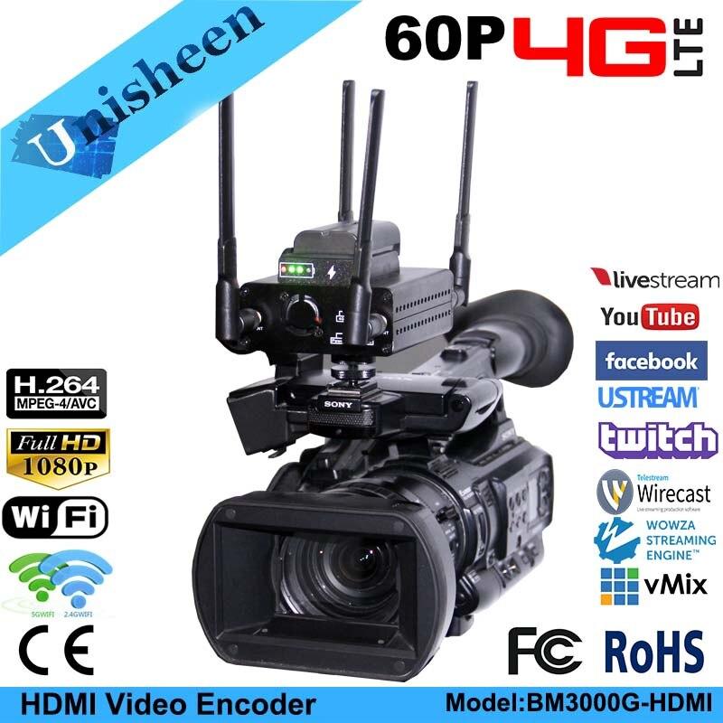 4G Stream H.264 wifi HDMI Video Encoder HDMI Transmitter ip encoder live Broadcast encoder wireless H264 iptv encoder wowza цена
