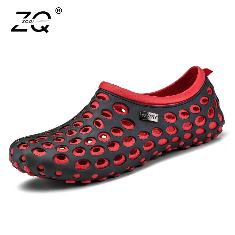 Summer Mens Garden Clogs Slippers EVA Casual Fashion Beach Sandals For Men, Mens Lightly ...