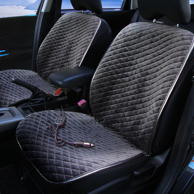 Car Heated Cover Electric Seat Cushion For Toyota Corolla Rav4 Prius Prado Highlander Sienna Zelas Verso Mark X Crown In Automobiles Covers