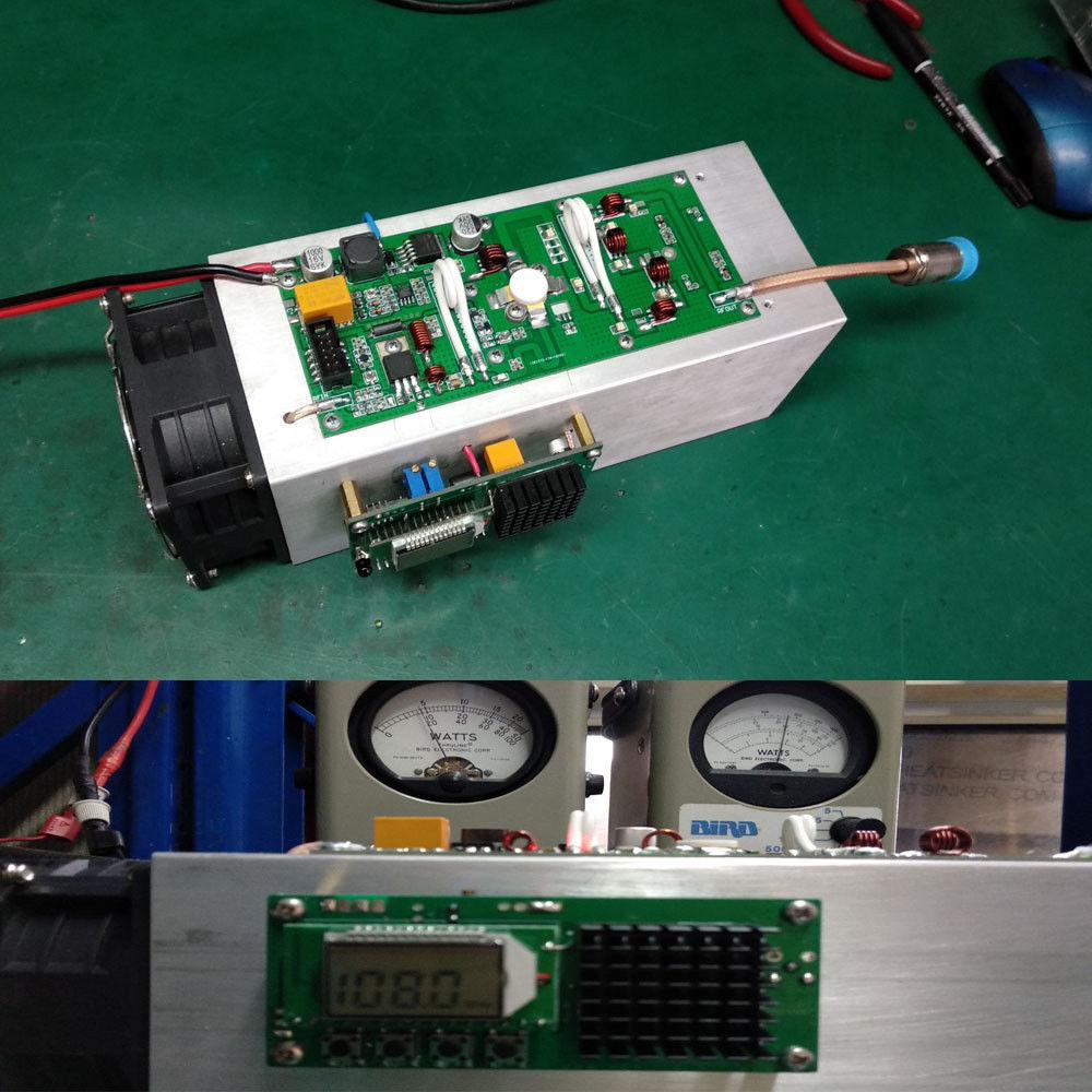 Fmuser Wrf 1ka 1000w 1kw Rf Power Amplifier Fm 87mhz 108mhz In 30watt Vhf Circuit For Broadcast Band Digital Lcd 150w Transmitter Radio Station Pll Stereo Frequency 87 Ham