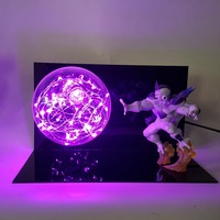 Dragon Ball Z Freeza DIY Led Lamp Bulb Night Light Dragon Ball Z Table Lamp for Bedroom Decor Esferas Del Dragon DBZ Frieza