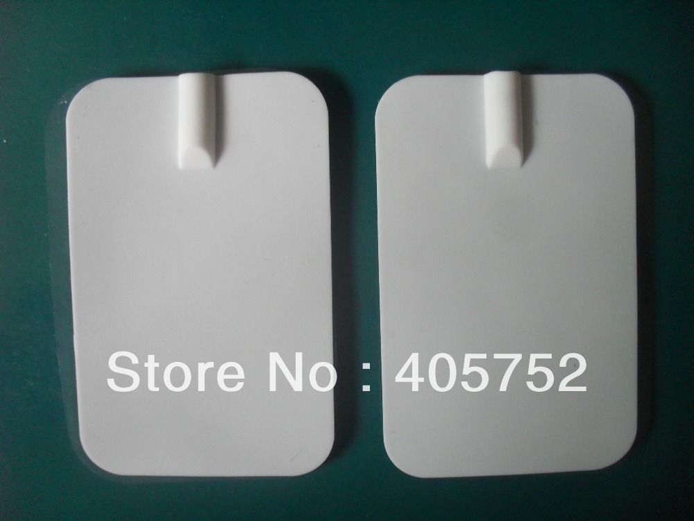 DHL freeshipping 300pcs lot 150 pairs white Electrode Pads for Tens Acupuncture Digital Therapy Machine Massager