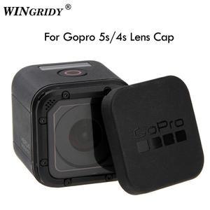 For Gopro Hero 5 4 Session Lens Cap Hero 5/6/7 4S 5S Lens Cap Cover Housing Case Protective