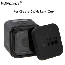 For Gopro Hero 5 4 Session Lens Cap Hero 5/6/7 4S 5S Lens Cap Cover Housing Case Protective with Gopro Logo For Go pro Hero 4/5