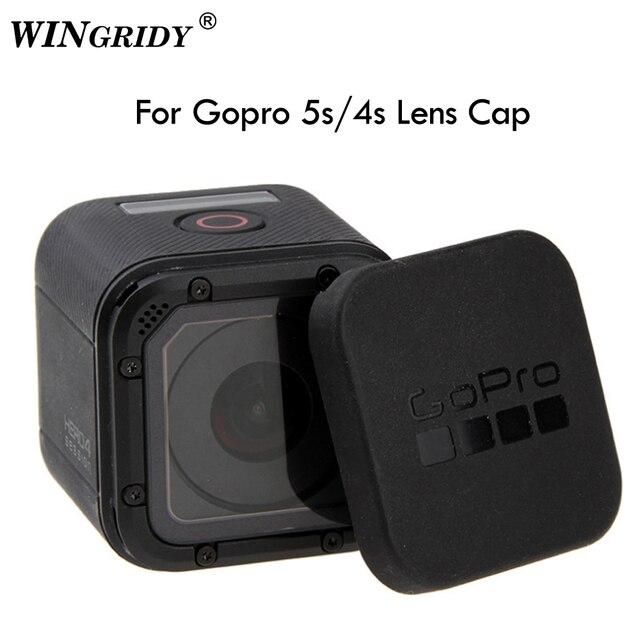 Крышка для объектива Gopro Hero 5 4, крышка для объектива 5/6/7, крышка для объектива Gopro 5/4/5, защитный чехол с логотипом Gopro, для Go pro Hero