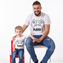 2019 Summer New Wonderful Father and Son Matching T-shirt Family Clothing O-neck Short Sleeve Hot Sale Clothes