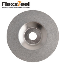 High Quality 2pcs/Set 100mm Dia Round Glass Disco da taglio diamantato Grinding Cutting Disc Sliver Tone Diamond coated