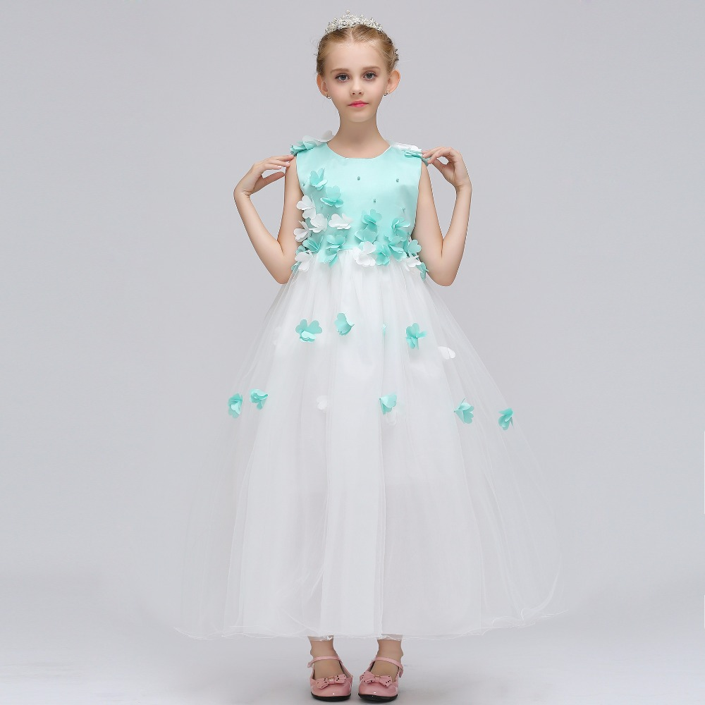 Flower     Girl     Dress   For Wedding with Ball Gown Style Little Princess Lace Bow   Flower     Girl     Dresses   2019