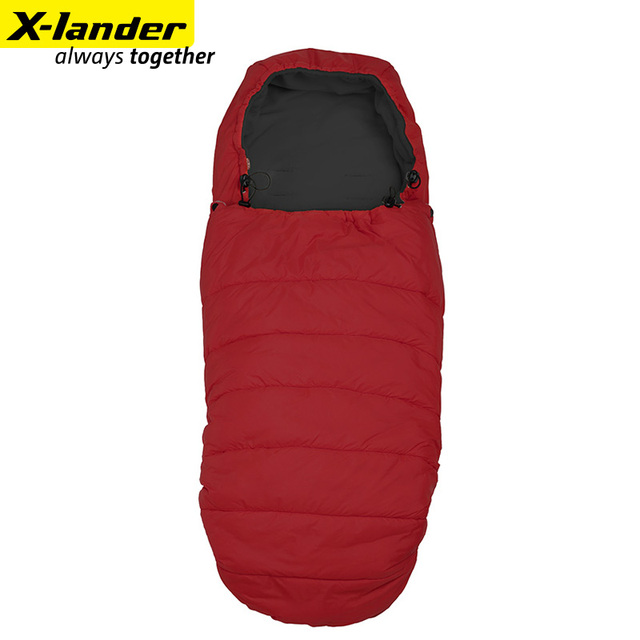 Xlander baby sleeping bag autumn and winter all-match infant thermal bags
