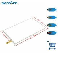 Skylarpu 6 touchscreen digitizer Glass Replacement for LMS606KF01 LMS606KF01 002 GPS Navigation Touch panel Glass Digitizer
