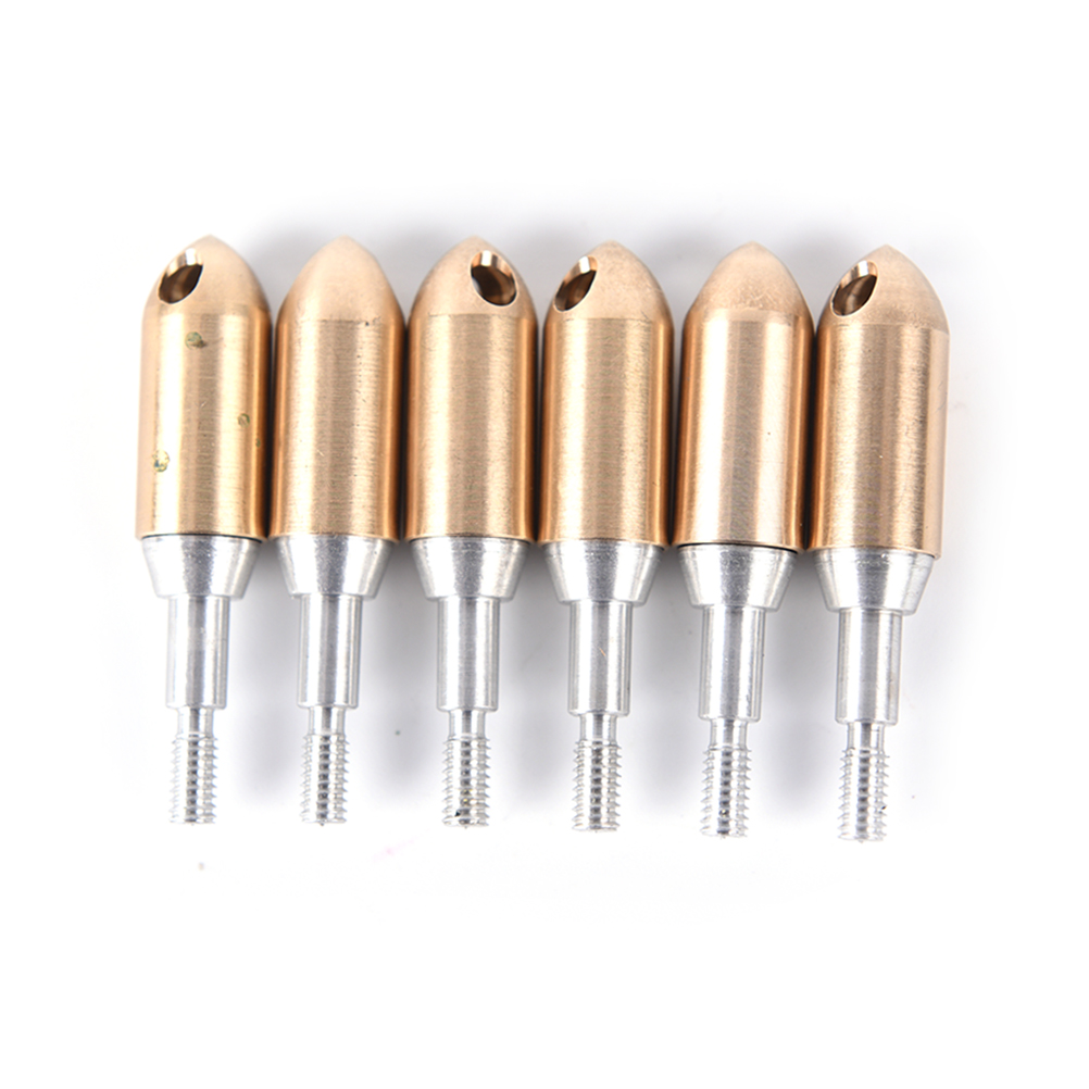 Whistle Arrow heads Copper Broadhead Arrowhead F Screw Hunting Arrow Field Hunting ...