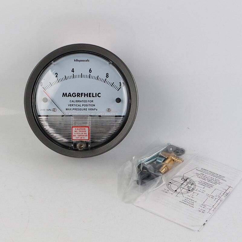 ФОТО TE2000 0-10kpa Micro Differential Pressure Gauge High