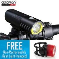 GACIRON Bicycle Bike Headlight Waterproof 1000 Lumens MTB Cycling Flash Light Front LED Torch Light Power